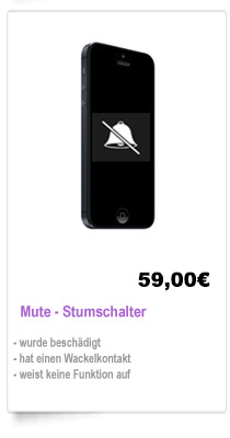 Mute-Stummschalter reparieren iPhone 5 Berlin Reparatur