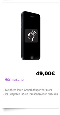 Hörmuschel Reparatur iPhone Berlin