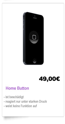 Home Button Reparatur Berlin iPhone Home button reparieren