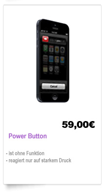 iPhone 5 Power Button Reparatur Berlin