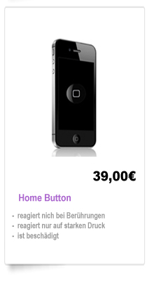iPhone 4 Home Button Reparatur Berlin, Wechsel Home Button iPhone 4 Berlin