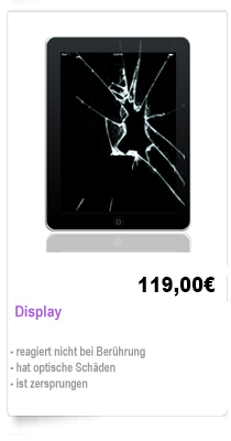 iPad 1,2,3 Display Reparatur Berlin