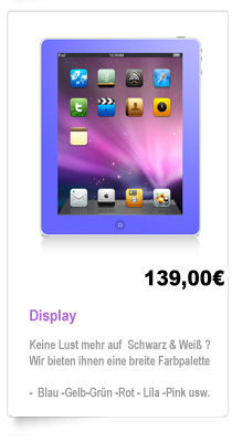 Display Reparatur Berlin iPad 1,2,3