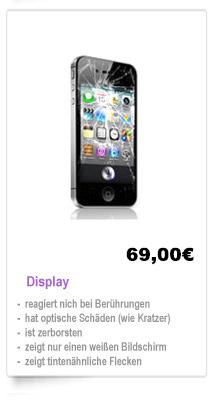 Apple Iphone 4s Display Reparatur Kosten